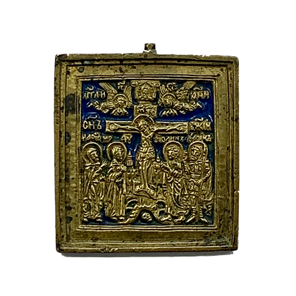 Russian Icon | Bronze Icon | Crucifixion