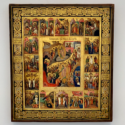 Russian Icon | Easter and 16 Festivites | Palekh