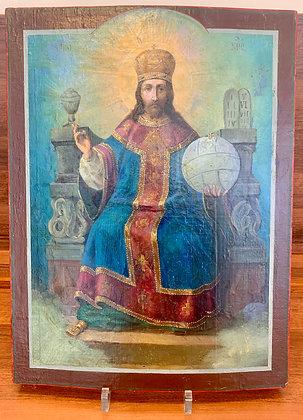 Russische Ikone | Christus als Hohepriester | 24781