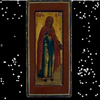Russische Ikone   Heilige Märtyrerin Natalia