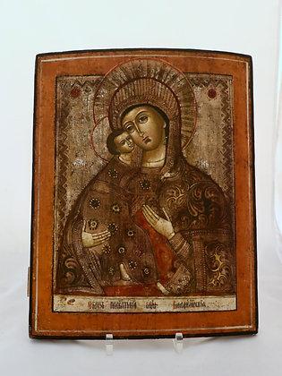Russische Ikone   Gottesmutter von Wladimir   24687