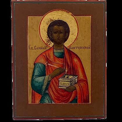 Russian Icon   Saint Panteleimon