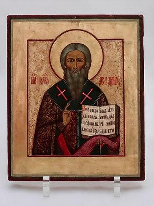 Russische Ikone | Heiliger Antipas | 24715