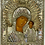 Thumbnail: Russian Icon   Mother of God of Kazan   with Silver Riza