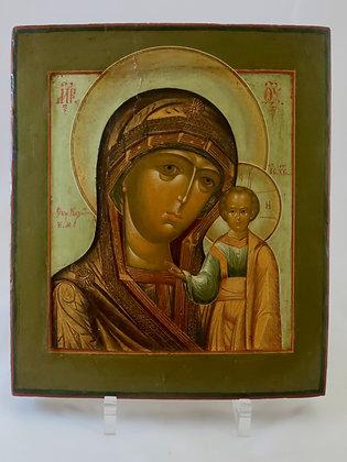 Russian Icon | Mother of God of Kazan | Kazanskaya