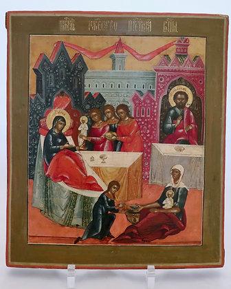 Russische Ikone | Geburt der Gottesmutter | 24770