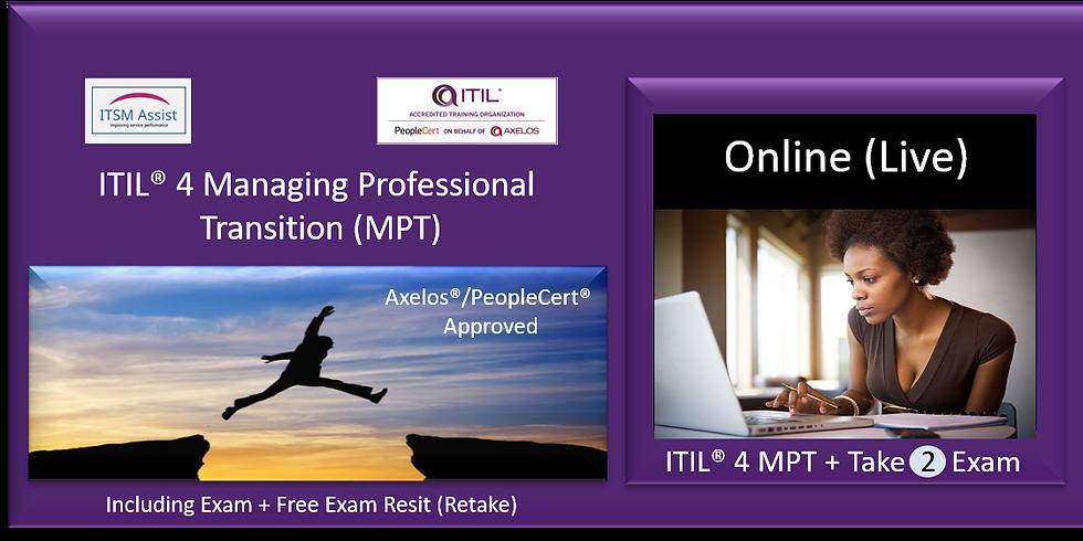 ITIL® 4 MP ref LDN170521