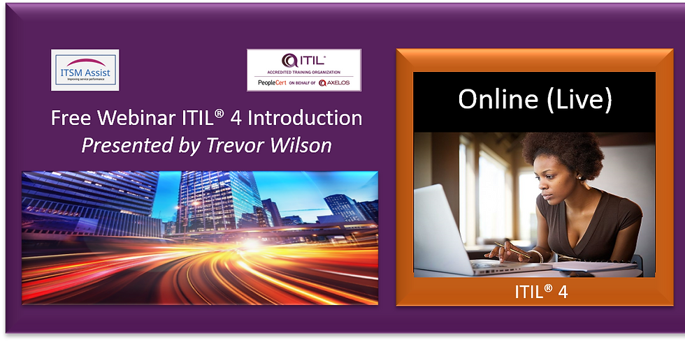 FREE ITIL® 4 Intro ref 100921