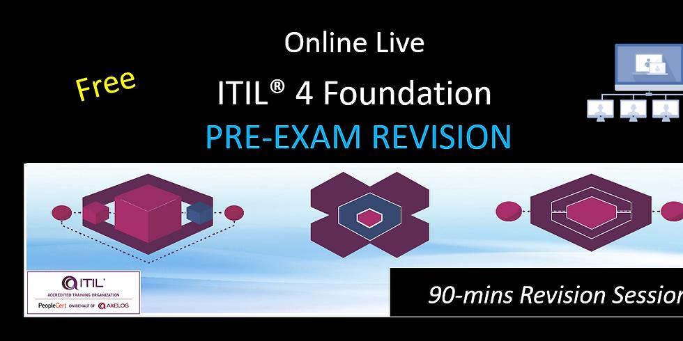 ITIL® 4 Foundation Pre Exam Revision