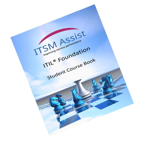 Hard Copy Itil Foundation Student Course Book