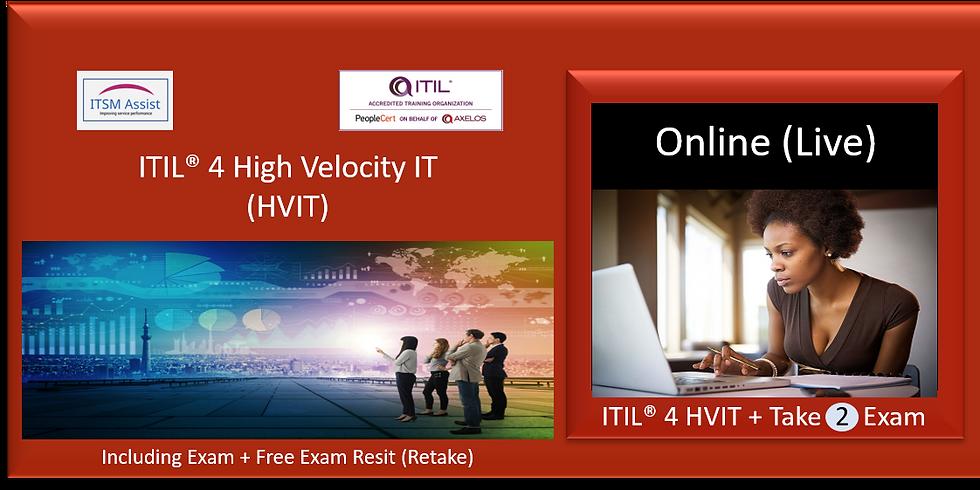 ITIL® 4 HVIT ref NY140621