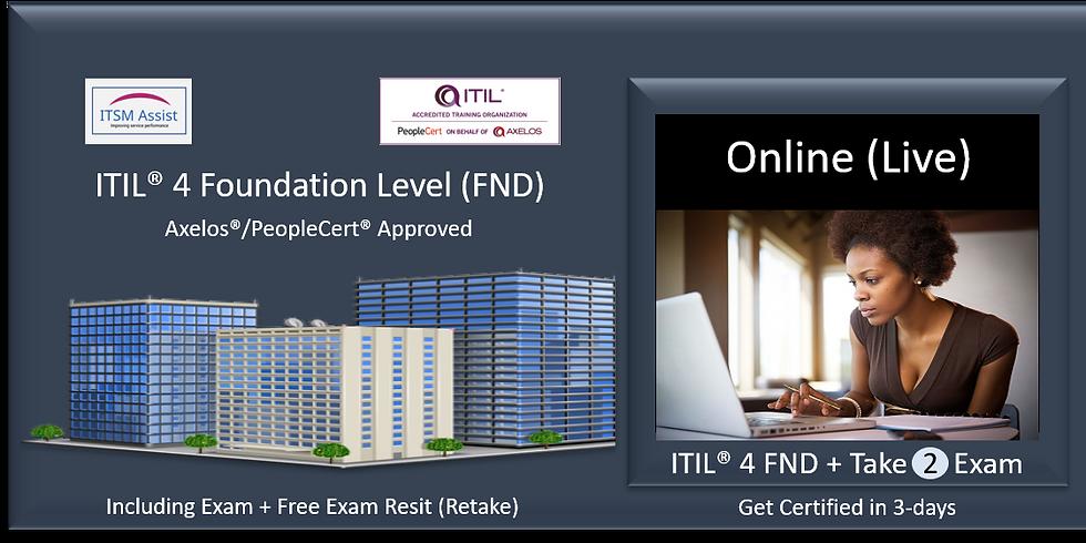 ITIL® 4 FND ref LDN090821