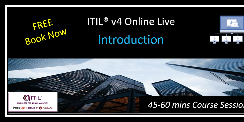 FREE ITIL® 4 Introduction (AM Session)