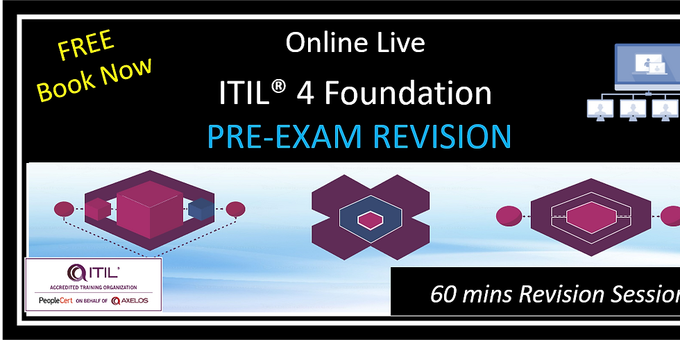FREE ITIL® 4 Foundation Pre Exam Revision