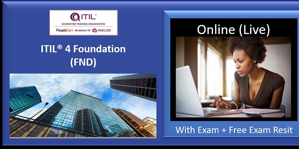 ITIL® 4 FND ref NY190820