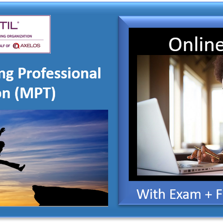ITIL® 4 Certification Training, Online (virtual classroom) vs Onsite (physical classroom)?