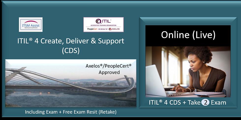 ITIL® 4 CDS ref LDN151121
