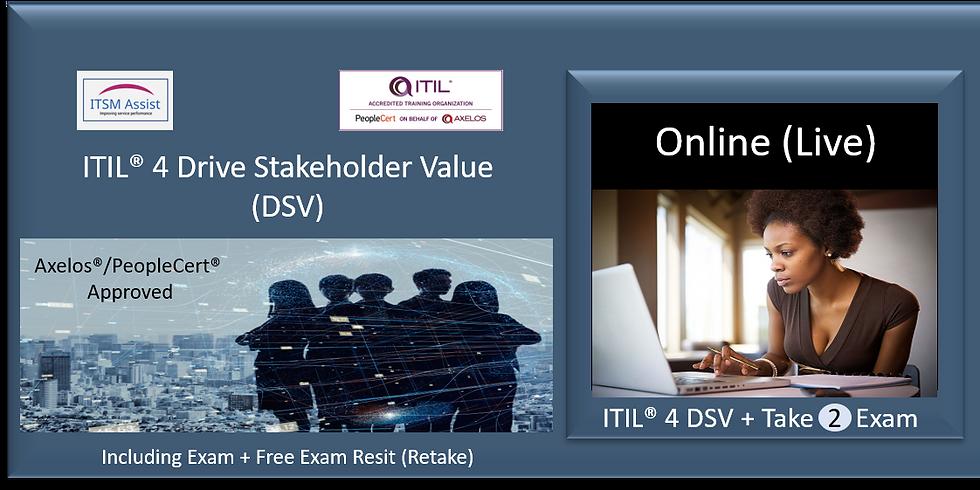 ITIL® 4 DSV ref NY240521