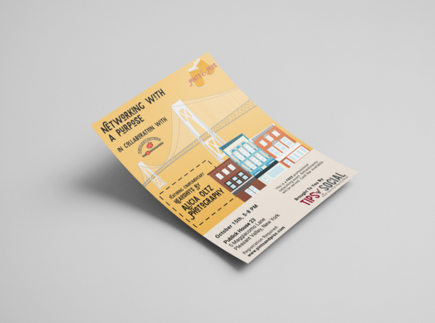 Pints & Pros Event Flyer