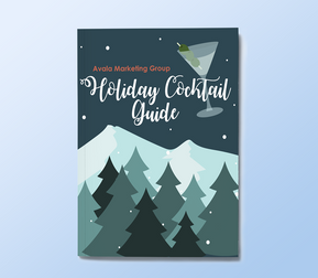 Holiday Cocktail Guide Front Cover