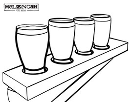 Melzingah Tap House Coloring Book Pages