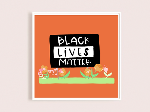 Black Lives Matter in Coral