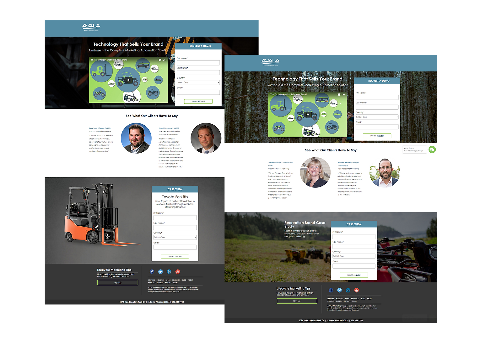 2018 Campaign Landing Pages.png