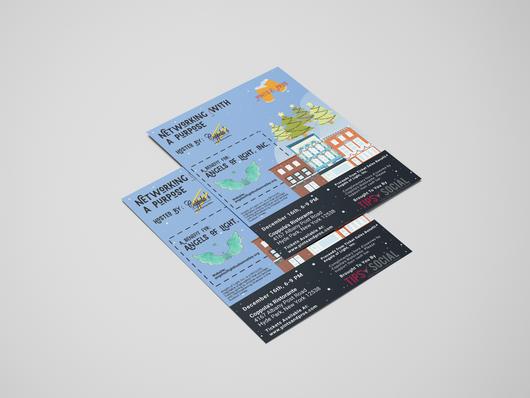 Pints & Pros December Event Flyer