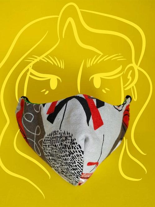Máscara solidária   @samambaiadesign