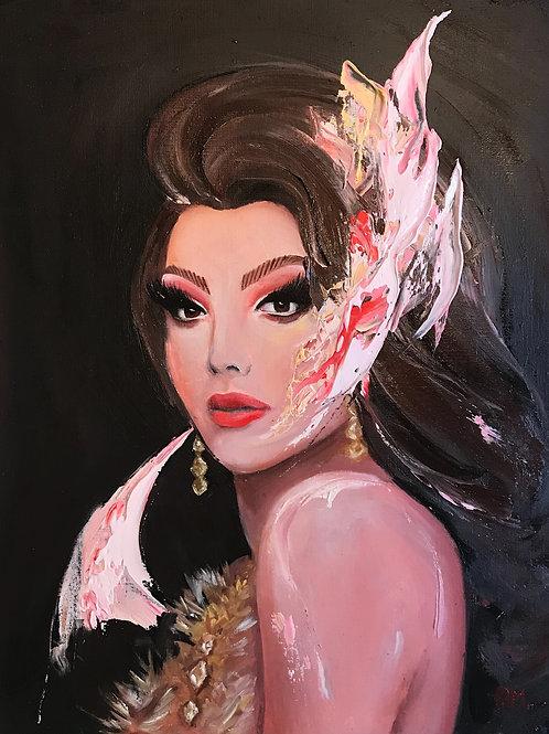 Pintura Valentina | @rafames_art