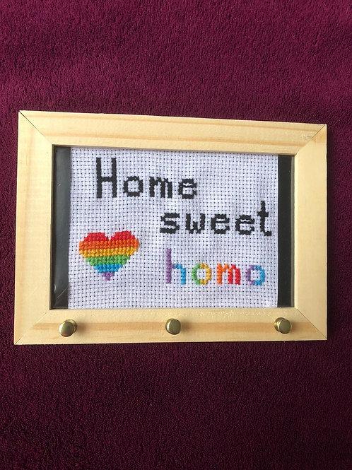 Porta chaves Sweet Home    @amandaarraism