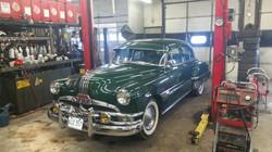 53 Pontiac Classic Car