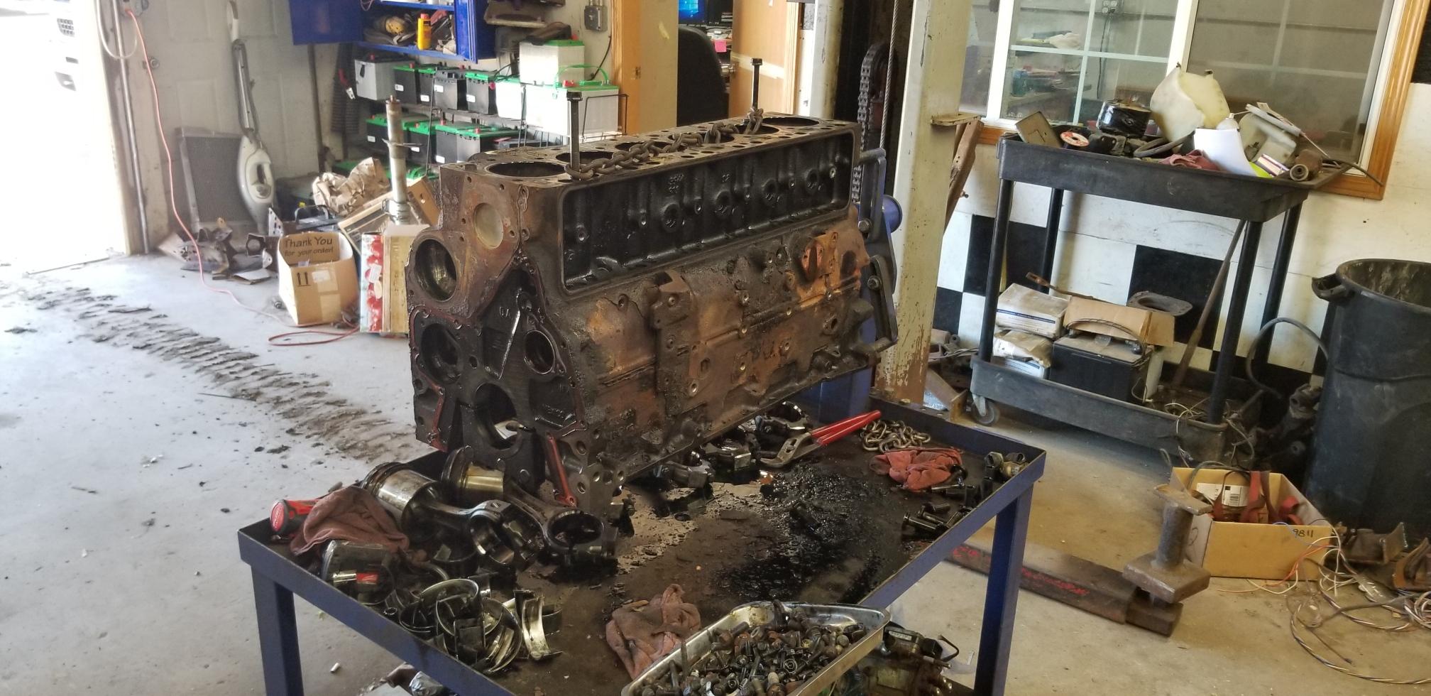Cummins 5.9 Diesel Overhaul