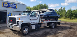Damage Free Classic Car Towing