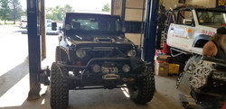 Jeep engine replacement