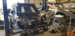Jeep engine replacement 3.8 l V6