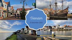 Kerstochtend in Volendam