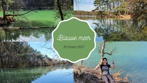 Geen rustig rondje Blauwe meer in Drenthe