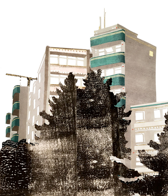 Berlin Tower Blocks