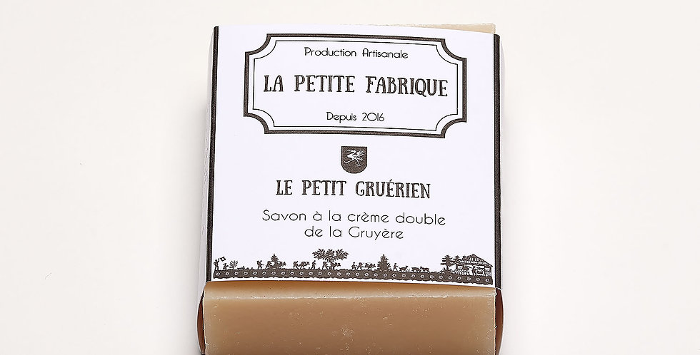 """Savon à la crème double """"Le petit Gruérien"""""""