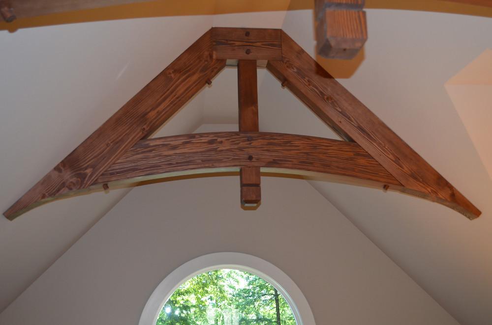 Cutom handmade beams