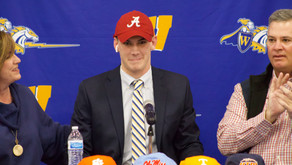 Ty Simpson Commits to the University of Alabama