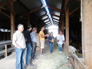 CLD Ardèche Verte - Des citoyens engagés dans la vie citoyenne à la découverte des fermes locales