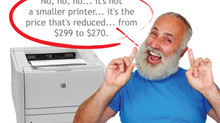 The Printer Cartridge is FREE!!!! The Printer is reduced!