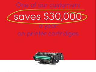 Save $100s on a single toner cartridge!
