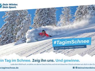 Unsere große Dein Winter. Dein Sport. Kampagne: #TagimSchne