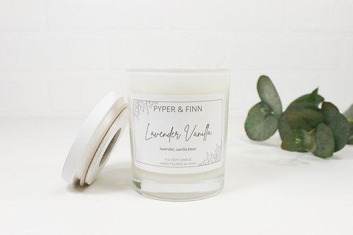 Lavender Vanilla 9 oz Soy Candle
