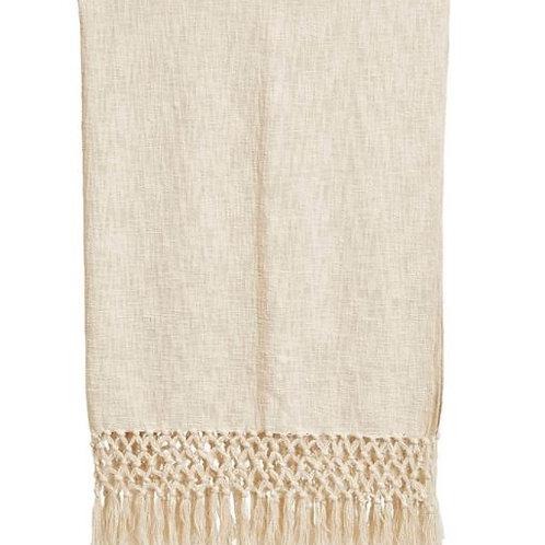 Woven Cotton Slub Throw