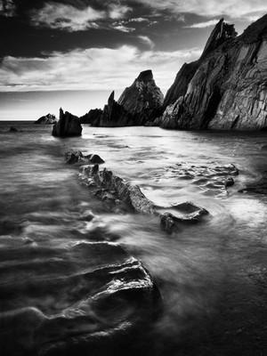 Westcombe Bay. Devon, England