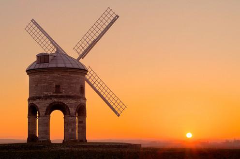 Chesterton Windmill. Warwickshire, England